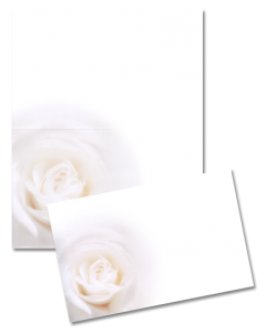 Sujet «Weisse Rose»