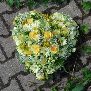 Rosenherz gelb